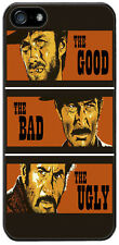 The Good, The Bad and The Ugly Movie Film Rubber Cover/Case For iPhone 5/5S