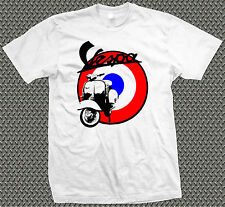 VESPA SCOOTER ROUNDEL Design T-Shirt - Mods 60's 70's Wasp