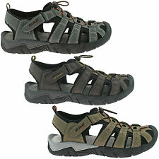 MENS GOLA CLOSED TOE SPORTS SANDALS SIZE UK 7 - 12 WALKING TRAIL SHINGLE