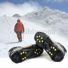 NEW Over Shoe Studded Snow Grips Ice Grips Anti Slip Snow Shoes Crampons Cleats