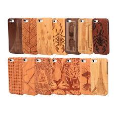 New Fashion Design Natural Bamboo Wood Wooden Hard Case Cover for iPhone 5 5S 5G