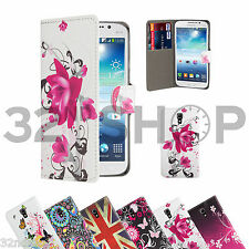 WALLET PU LEATHER CASE COVER For Samsung Galaxy Mega i9200  SCREEN PROTECTOR