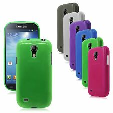 Transp Matte TPU Rubber Gel Case Cover for Samsung Galaxy S4 mini i9190 i9195