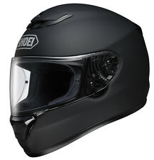 SHOEI QWEST MATT BLACK FULL FACE MOTORCYCLE SPORTS HELMET NEW