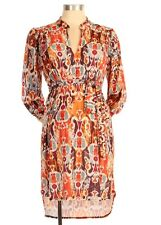 New JAPANESE WEEKEND MATERNITY Flowy Shirtdress Nursing CAREER Shirt DRESS $128