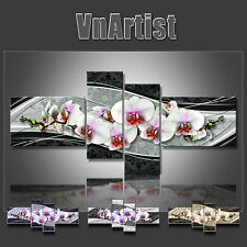 VnArtist / TOP LEINWAND KUNSTDRUCK BILDER DIGITAL BLUMEN ORCHIDEE ART 3129