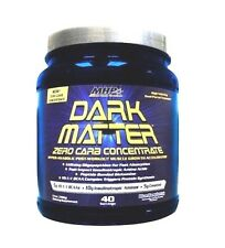 MHP Dark Matter ZERO CARB CONCENTRATE Post Workout Protein Matrix 40 Servings