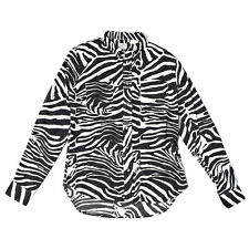 LEVI'S VINTAGE CLOTHING SS14 1960S LONG SLEEVE SHIRT ZEBRA RRP £150