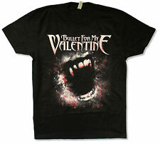 "BULLET FOR MY VALENTINE ""BITE"" BLACK T-SHIRT NEW OFFICIAL ADULT BFMV"