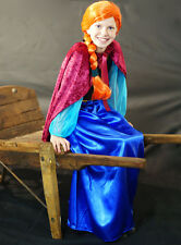 Anna-Ice Princess-Frozen Queen-Fairytale Fancy Dress Outfit ALL AGES