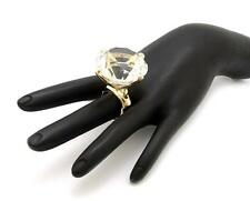 NEW CELEBRITY STYLE BIG DIAMOND LOOK 30mm RHINESTONE STRETCHABLE RING RB002M