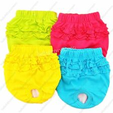 Muti-Colors Female Pup Pet Dog Physiological menstrual pants Soft Cotton Short