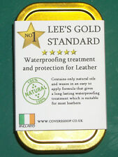 Waterproofing Treatment & Protection for Motorcycle Leathers Lee's Gold Standard