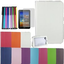 White Leather Case Cover Stand For Samsung Galaxy Tab 2 Tablet 7.0 P3100 P3110
