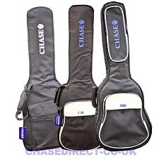 Chase Guitar Bag Electric Acoustic Classical Bass Gig Case With Shoulder Straps