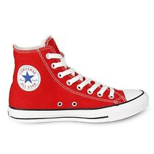 Converse Chuck Taylor All Star Trainers High Red Chucks Shoes