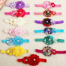 Cute Kid Infant Baby Children Flower Chiffon Headband Hair Bownot Band Accessory