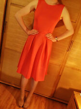 ♥New DOROTHY PERKINS Coral Pink Scuba Dress Size 6 8 10 12 14 16 18 20 RRP £30♥