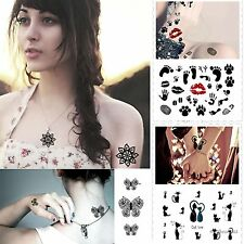 Temporary Tattoo Body Art Sticker Secure Waterproof Nontoxic For Men And Women