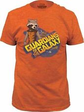 New Authentic Guardians of the Galaxy Rocket Racoon Mens T-Shirt Sizes S-2XL
