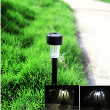 Outdoor Solar LED Cool Warm Garden Lawn Landscape Post Lamp Yard Path Light