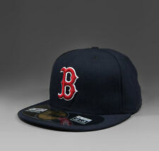 NEW ERA MLB Boston Red Sox On Field 59Fifty fitted Cap navy red - 10010244 NEU