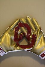 New! NIKE OKLAHOMA SOONERS OU RED RIVER RIVALRY VAPOR JET 2.0 RECEIVER GLOVES
