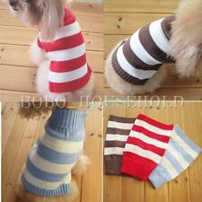 Warm Pet Dog Cat Winter Sweater Knitwear Knit Puppy Coat Outwear Apparel Clothes