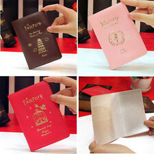 Passport Ticket ID Credit Card Journey Travel Holder Cover Case Protector Skin