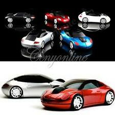 Cars shape Wireless 1600dpi Optical Car Mouse Mice + USB 2.0 Receiver for Laptop