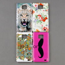Fashion Chic CUTE Patterns Hard PC Back Protector Case for Samsung Galaxy S ii