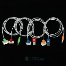 New Visible LED Light Power Charging Sync USB Cable for Iphone 4G 4S ipod touch