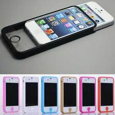 Pure Color Full Body Decal Skin Sticker Wrap Case Cover For Apple iphone 4 4G 4S