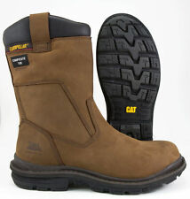 Mens Safety Rigger Boots Caterpillar Olton S3 Composite Toe Cap Size 7-13 New