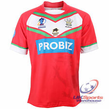 Official Rare Wales Rugby League World Cup 2013 Team Rugby Jersey Shirt rrp£50