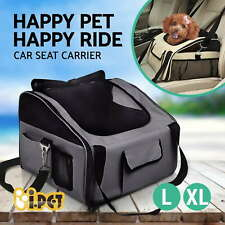 Pet Carrier Dog Cat Car Booster Seat Portable Soft Cage Travel Bag Large L/XL