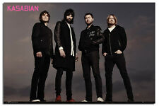 Kasabian Group Large Wall Poster New - Maxi Size 36 x 24 Inch
