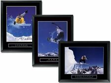 3 Snowboard Motivational Posters 22x28 Sports Photos Framed Snowboarding Winter