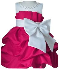 Jeansian Girl Pageant Wedding Bridesmaid Party Princess Dress Kid 4 Color CG001
