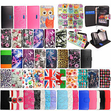 For Sony Xperia Phones New Printed Book Side Wallet Flip Case Cover+Guard+Stylus