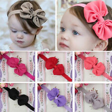 Sweet Kids Girls Baby Toddler Infant Flower Headband Hair Bow Band Accessories