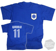 Legend Chris Waddle No.11 Football Soccer Sheffield Wednesday T-Shirt  Gift Box