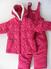 NWT 4 5 6 6X Girls OshKosh Snowsuit ski outfit with bib snow pants $95RV