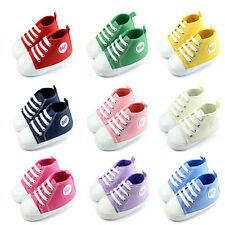 Cute Infant Toddler Baby Boy Girl Soft Sole Crib Shoes Sneaker Newborn Hot