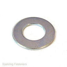 Metric Zinc Plated Steel Flat Washers - M2 to M24