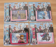 2014 Disney Frozen Wristwatch watch Purses Wallets Children Gifts QB-004