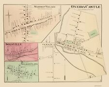 ONEIDA CASTLE TOWNSHIP NEW YORK LANDOWNER (NY) BY POM WHIT & CO 1875