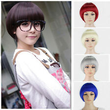 Fashion Women's Lady Short Full Wig Cosplay Party Hair Wigs Bobo Cute Style Hot