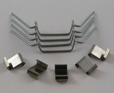 Greenhouse W clips and Z clips glass replacement glazing clips spring overlap