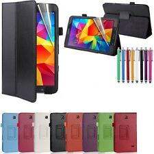 New Leather Smart Case Cover for Samsung Galaxy Tab 4  8 Inch  T330/T335 Tablet